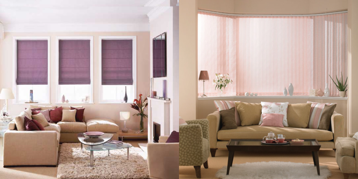 Best blinds for living room for Living room blinds